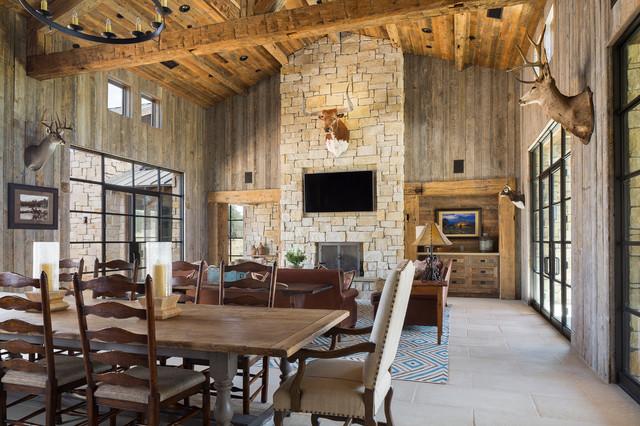 Llano Ranch Rustic Living Room Austin By