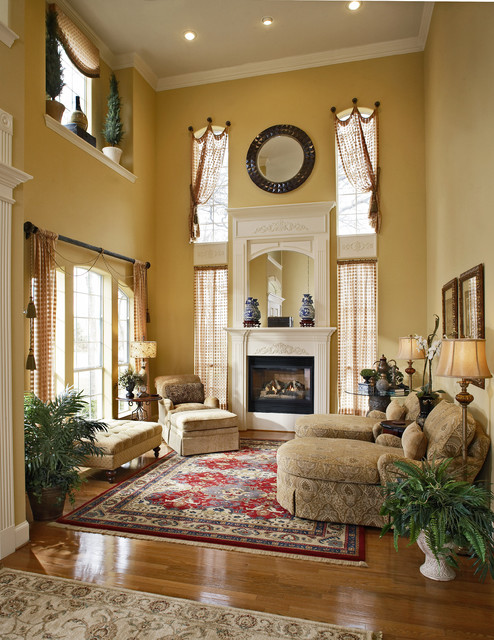 Local room makeovers traditional living room dallas for Local interior decorators