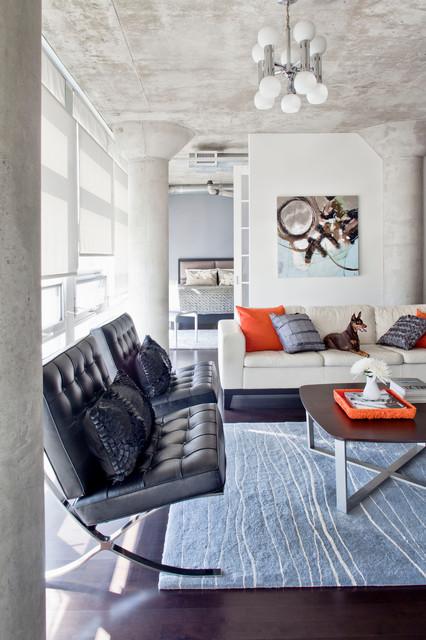 Loft 001 Modern Living Room Toronto By Rad Design Inc