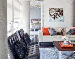 Loft 001 modern-living-room