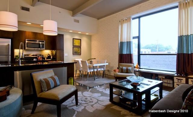 Loft Family Living contemporary-living-room