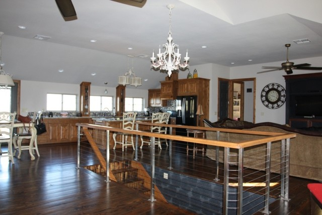 Loft Home traditional-living-room