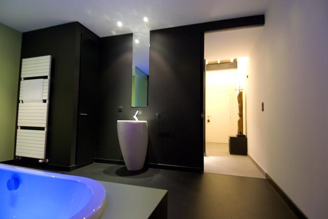Loft in Aalst, Belgium contemporary-living-room