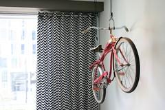 Ideas para guardar la bici dentro de casa