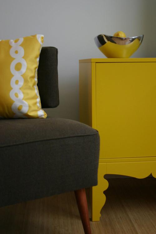 Loft Living modern living room