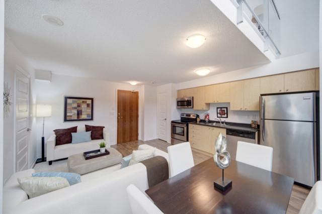 Loft Living Room contemporary-living-room