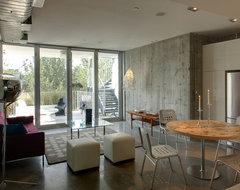 loft modern-living-room