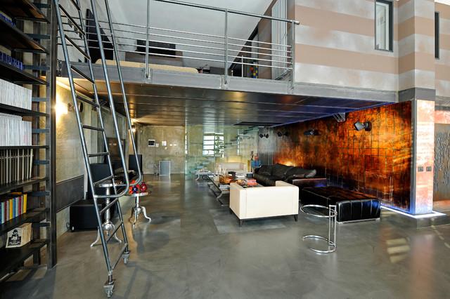 Loft industrial-living-room