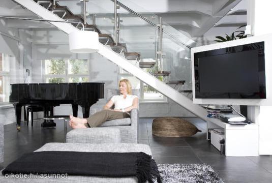 Loft modern living-room