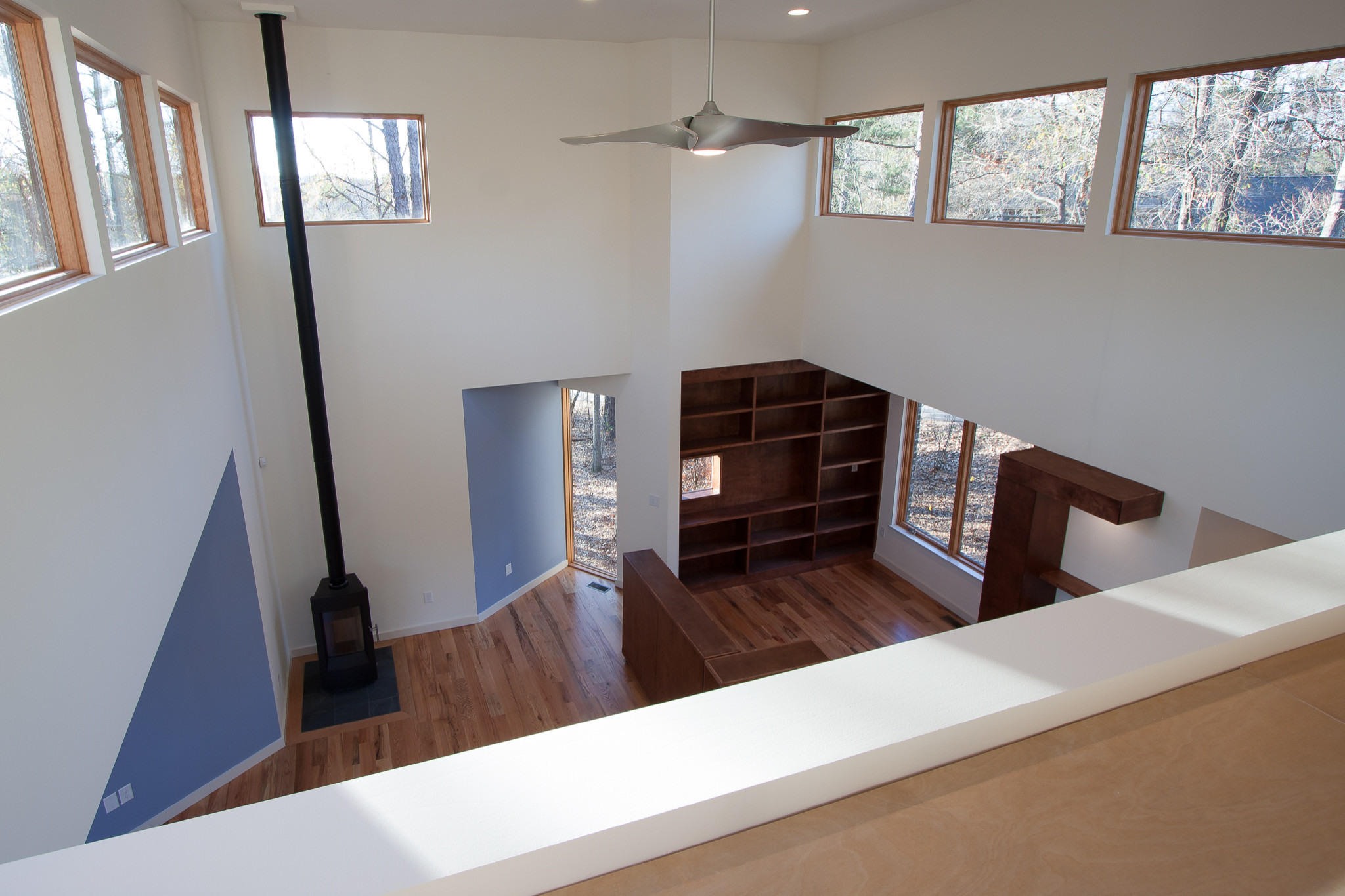 Overlooking Living Room Houzz