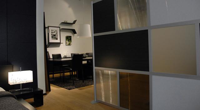 Loftwall modern-living-room