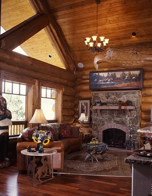 Log Home Living Magazine Feature Home 2009 Traditional