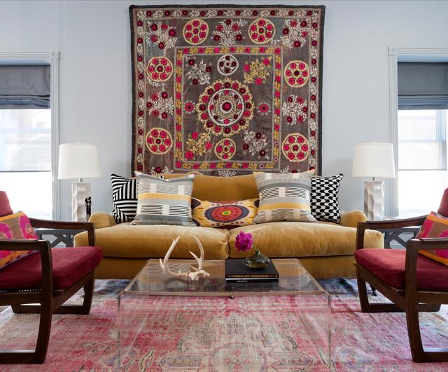 Logan Circle Residence transitional-living-room