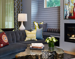 LoHi Private Residence eclectic-living-room