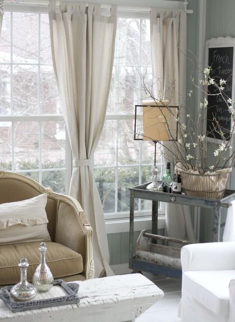 Lola B's transitional-living-room