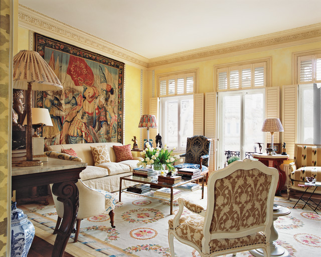 Italian Living Room. Inspiration for a timeless living room remodel in London Italian Living Room  Houzz