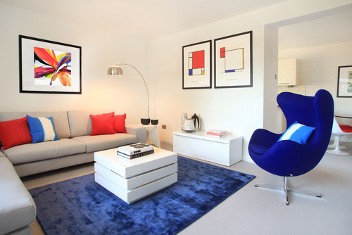 London apartment for LLI Design