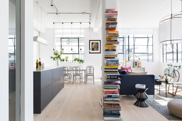 London Loft scandinavian-living-room