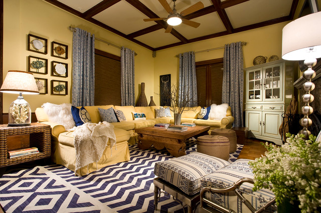 Long Beach Residence Traditional Living Room