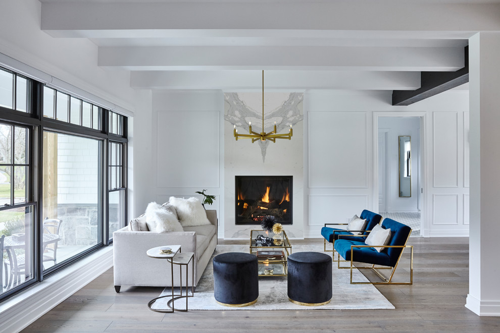 Long Island Residence Transitional Living Room New York By Jse Interior Design