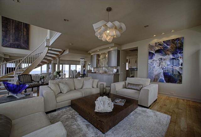 Longport contemporary-living-room