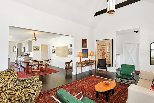 Longwood Ave, Los Angeles eclectic-living-room