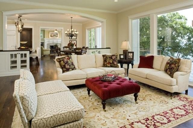 Loring Residence traditional-living-room