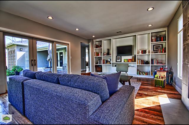 Los Altos Complete Home Renovation contemporary-living-room