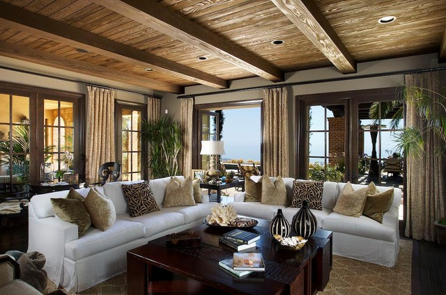 Los Angeles Homes traditional living room