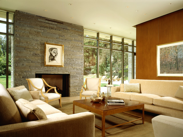 Los angeles modern modern living room los angeles for Family room los angeles