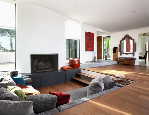 Eclectic Living Room By San Francisco Carpet U0026 Flooring Amber Flooring