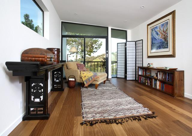 Los Gatos - Afrormosia eclectic-living-room