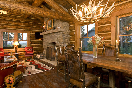Where Are The Deer Hide Chairs From? Gorgeous!