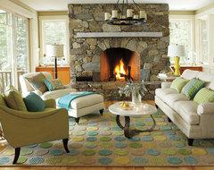Lounge Lake Living Room beach-style-living-room