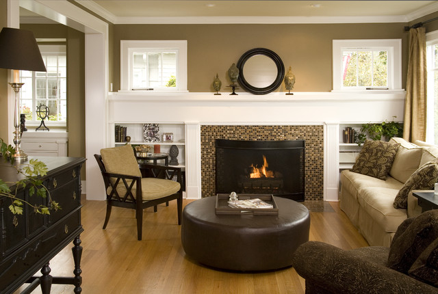 Lovely living room traditional living room seattle for Living room update ideas