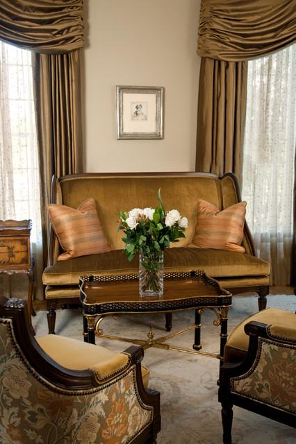 Lovely Vignette traditional-living-room