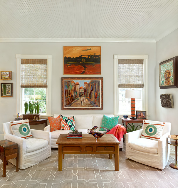 Lowcountry Traditional Residence Living