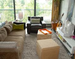 Lucas's Loft eclectic-living-room
