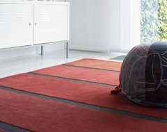 Lunar Stripe Rug contemporary rugs