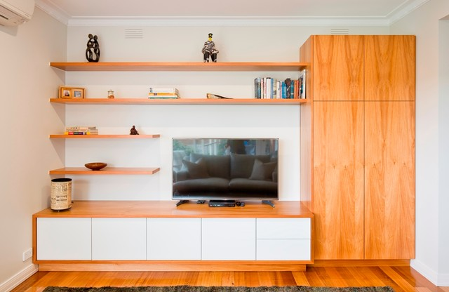 Lutze residence contemporary living room melbourne for Living room ideas australia