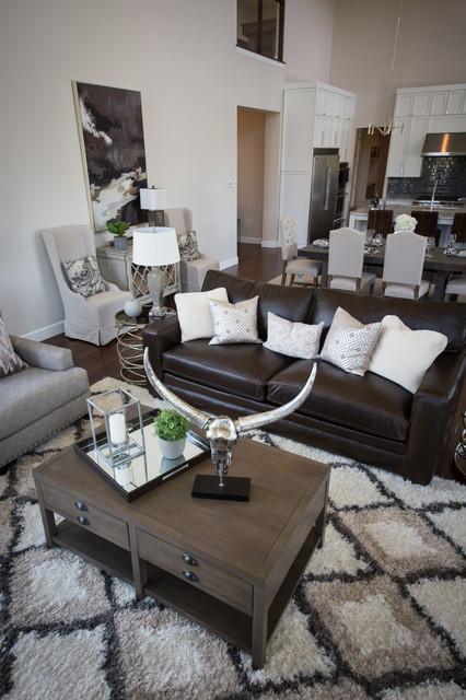 Luxe Furniture Design Modern Jenks Home