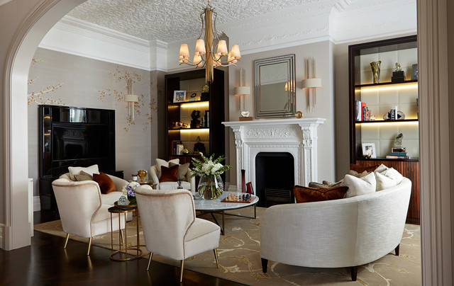 Luxe Interiors - Traditional - Living Room - London - by Graham ...