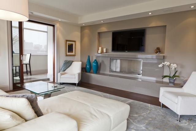 luxurious condo living room contemporary toronto modern interior design  ideas home. Modern Condo Living Room Design Decorating Ideas Home Theater