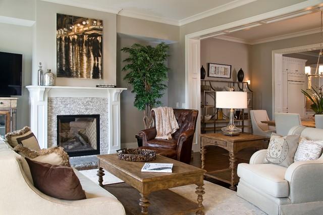 luxury condominium classique chic salon autres p rim tres par ridgeline construction. Black Bedroom Furniture Sets. Home Design Ideas
