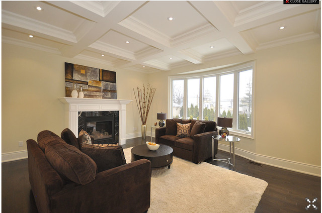 Luxury Custom Built Home Mississauga On Staging By Contemporary Living Room Toronto By