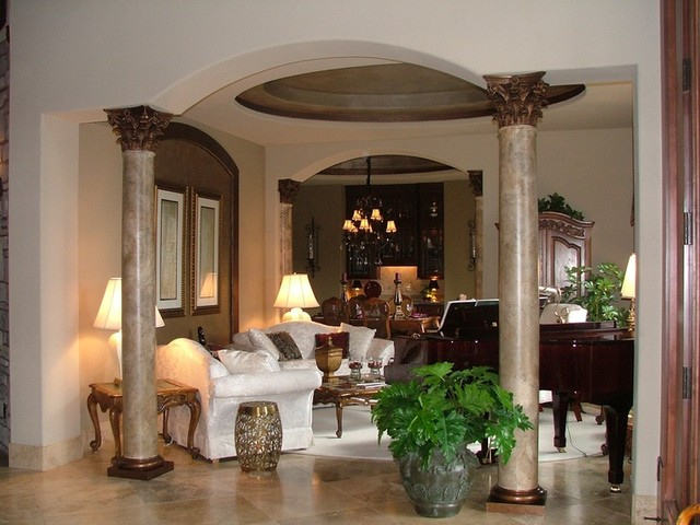 Luxury Custom Living Rooms by Timber Ridge Properties - Traditional ...