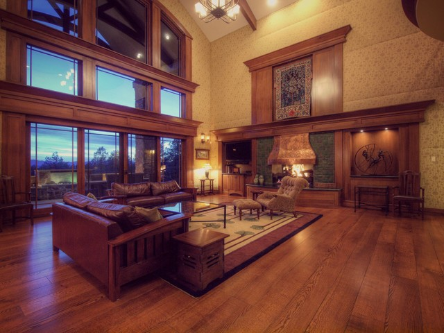 Luxury Custom Living Rooms By Timber Ridge Properties Traditional Living Room Denver By