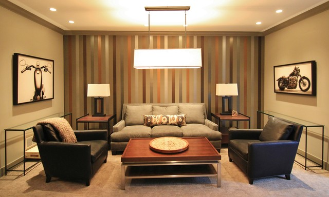 Luxury guest suite contemporary living room other for Guest living room ideas