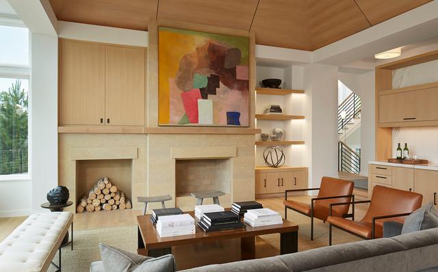 Contemporary Living Room Minneapolis By Martha O 39 Hara Interiors