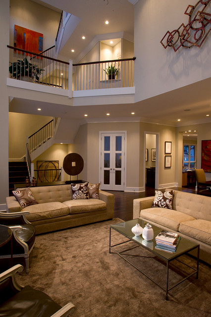 Luxury Home Tour Transitional Living Room Chicago